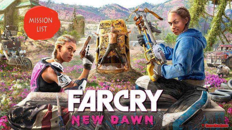 Far Cry New Dawn Mission List Gamemaximus